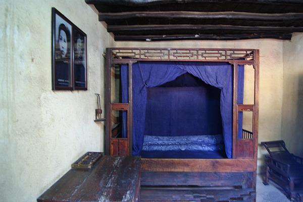 毛泽东父母卧室