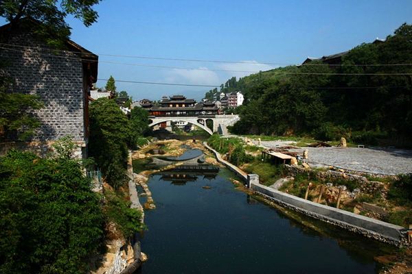 芙蓉镇土王桥